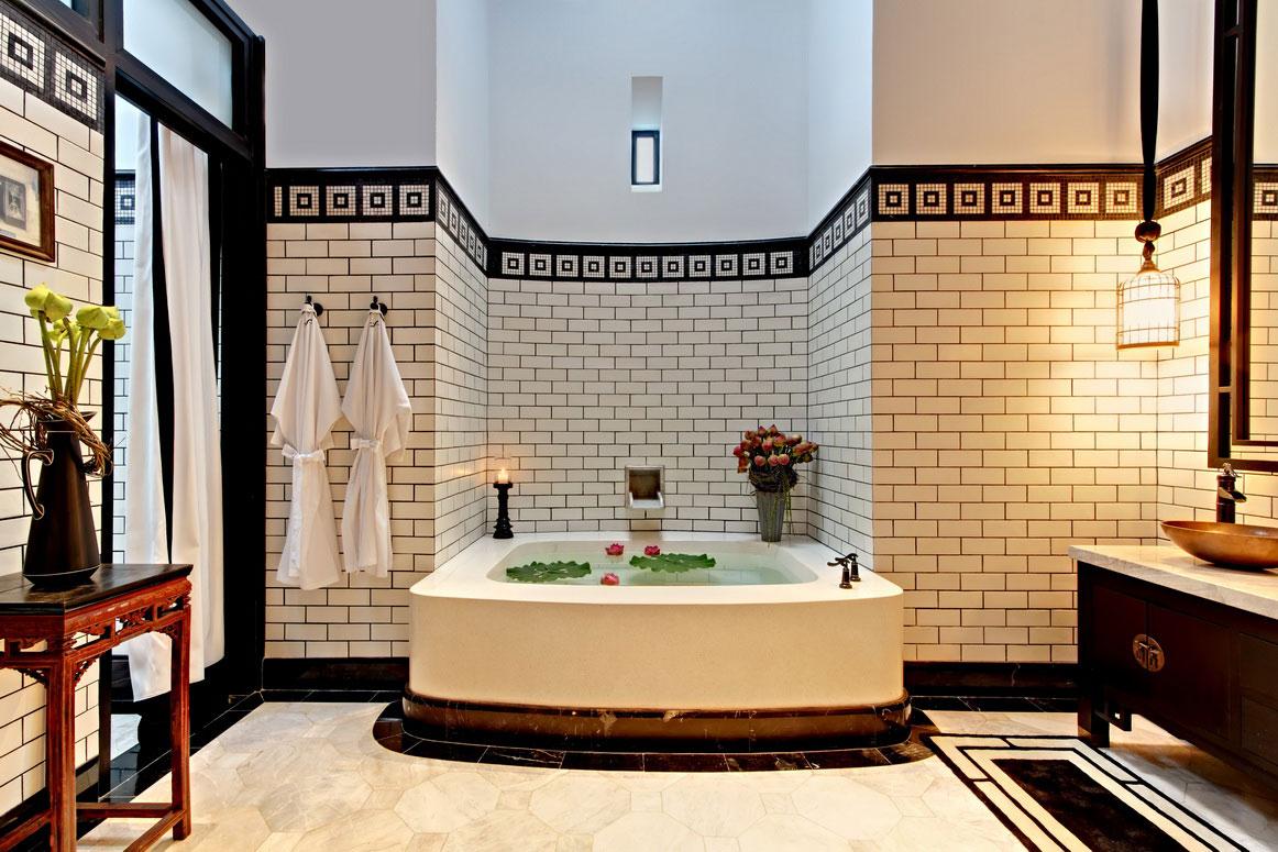 Ремонт модной ванной на Манхэттене: до и после