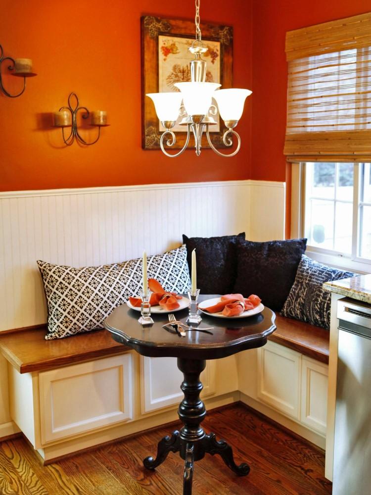 Кухня/столовая в  цветах:   Бордовый, Желтый, Красный, Темно-коричневый.  Кухня/столовая в  стиле:   Классика.