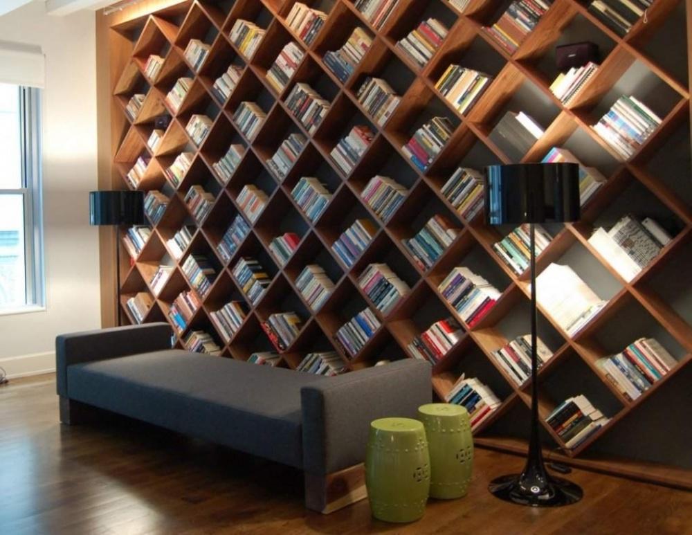 Библиотека в  цветах:   Серый, Темно-зеленый, Темно-коричневый, Черный.  Библиотека в  стиле:   Минимализм.