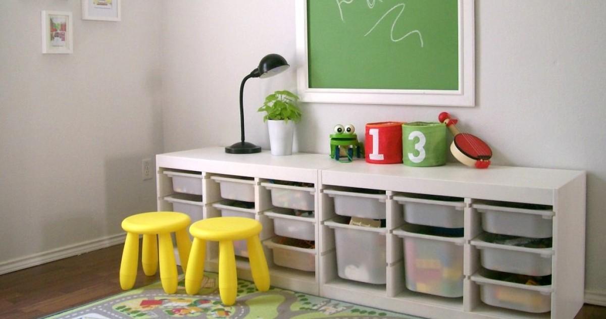 5 бесценных советов по хранению детских игрушек и мелочевки