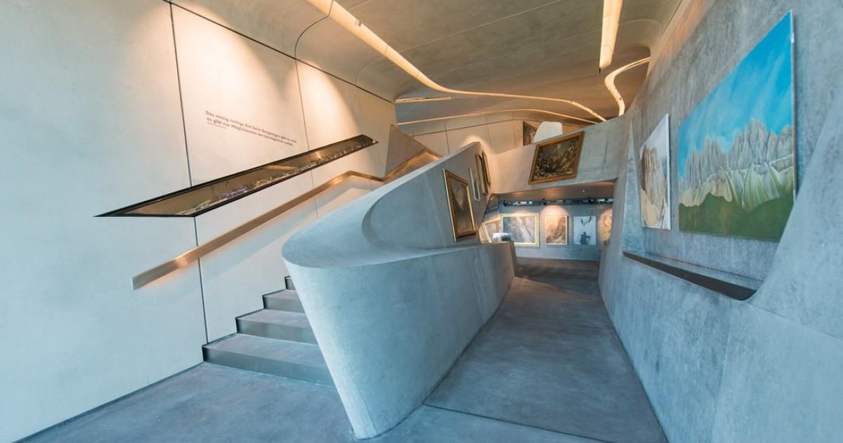 Заха Хадид спроектировала музей в горах