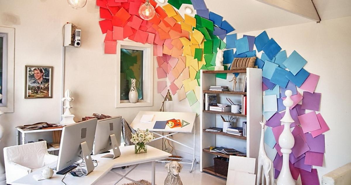 Чем бы ещё украсить стену: 20 крутых идей