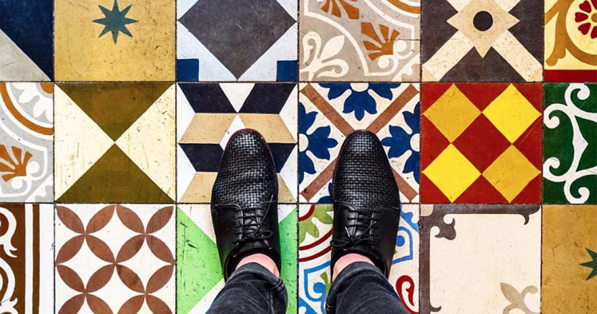 Записки дизайнера: полы из мозаики и плитки глазами парижского блогера
