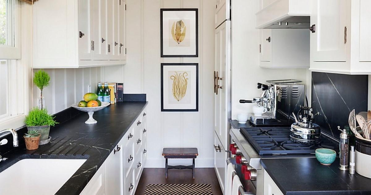 Кухня в две линии: оцениваем плюсы и минусы
