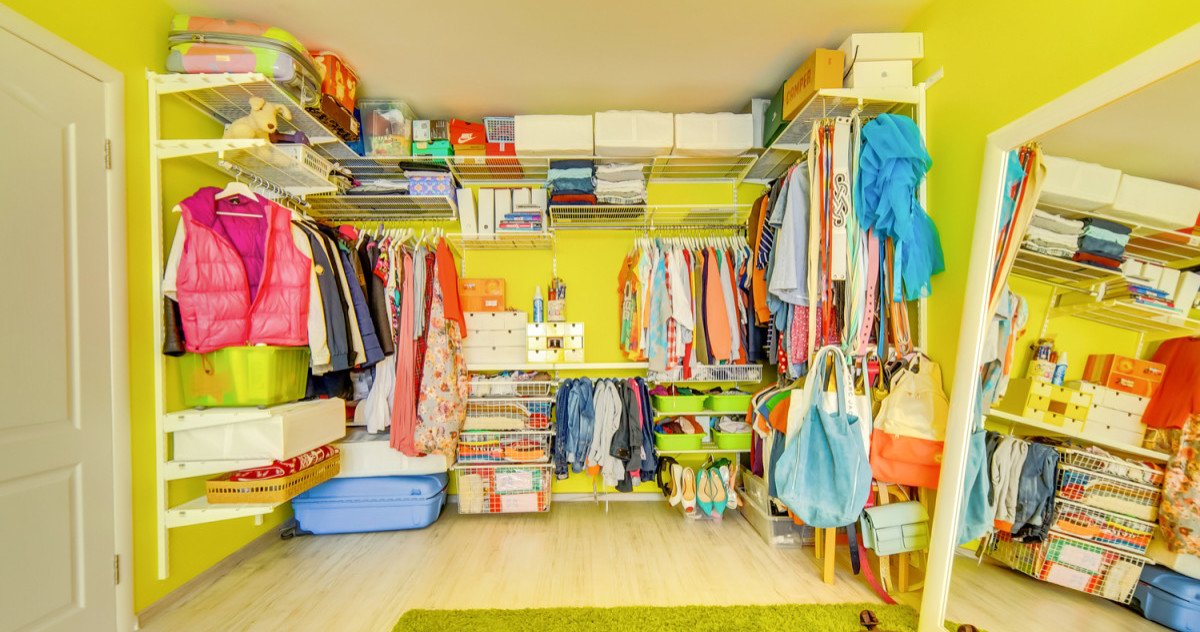 12 модных открытых гардеробов