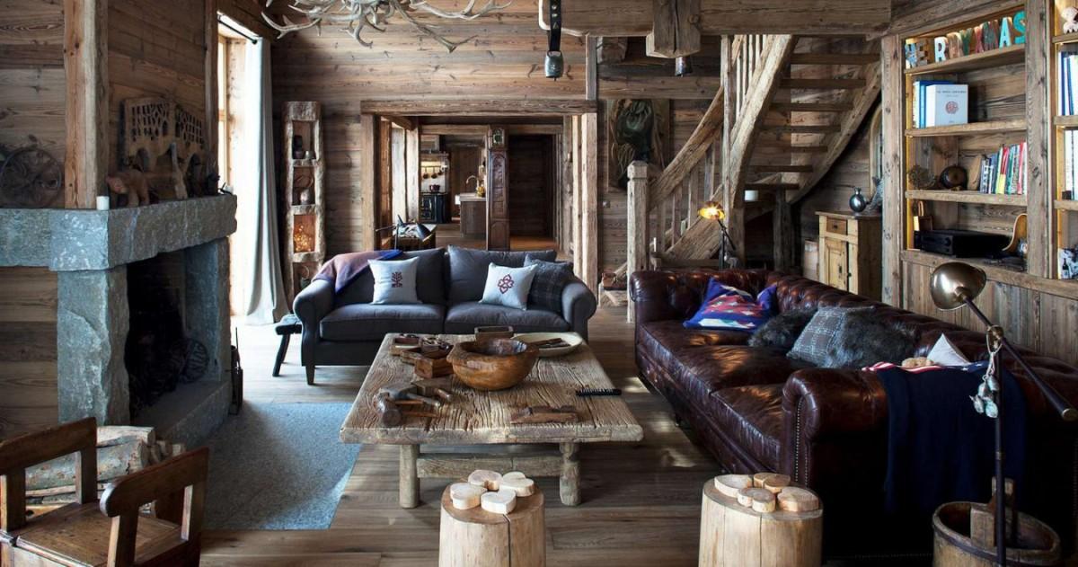 Стиль шале: 22 уютных интерьера