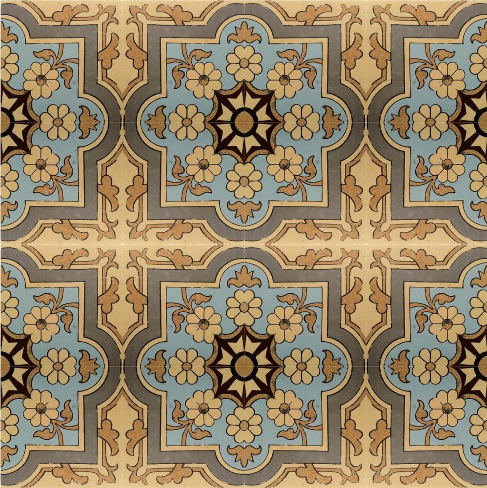Метлахская плитка: изобретение, интерьеры, мнение архитектора