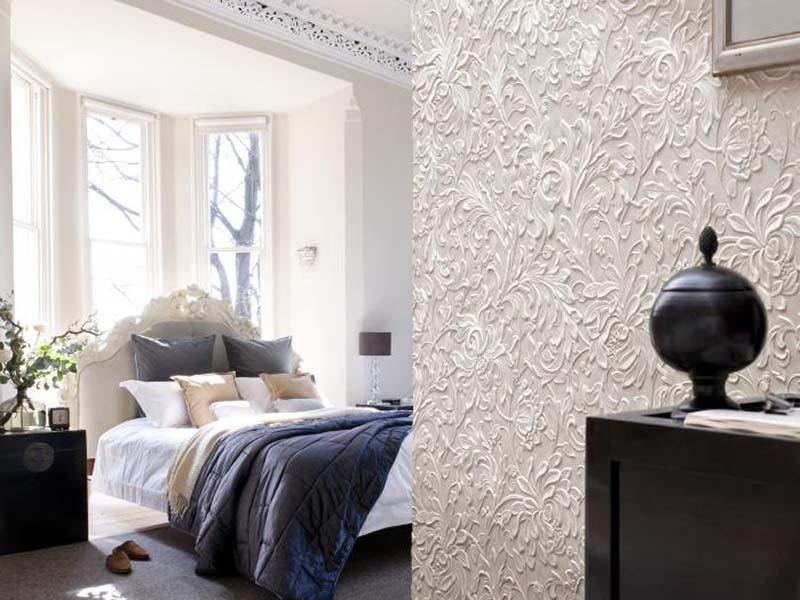 Спальня в  цветах:   Белый, Желтый, Светло-серый, Черный.  Спальня в  стиле:   Классика.