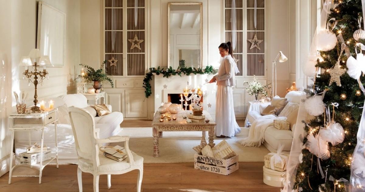 Невероятно красивое новогоднее оформление дома
