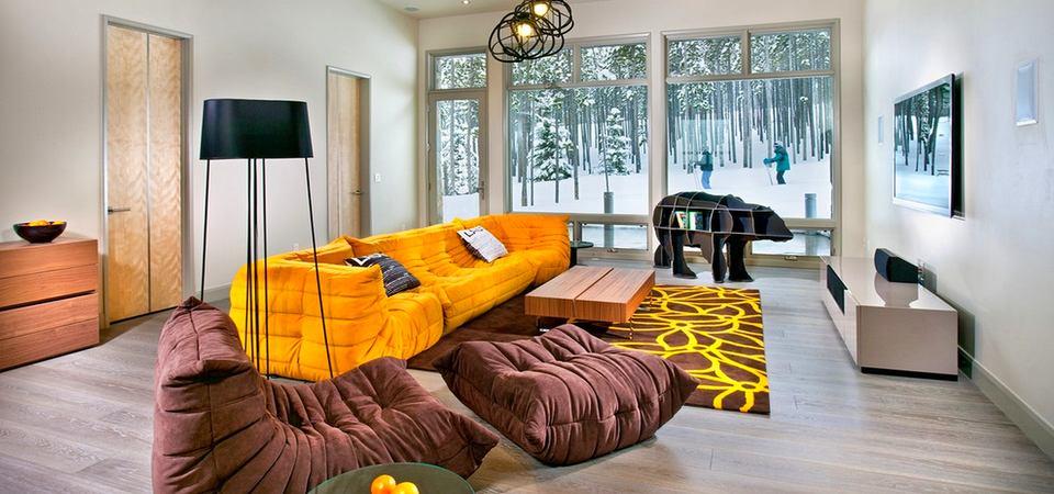 Уют в доме: жёлтый цвет для интерьера