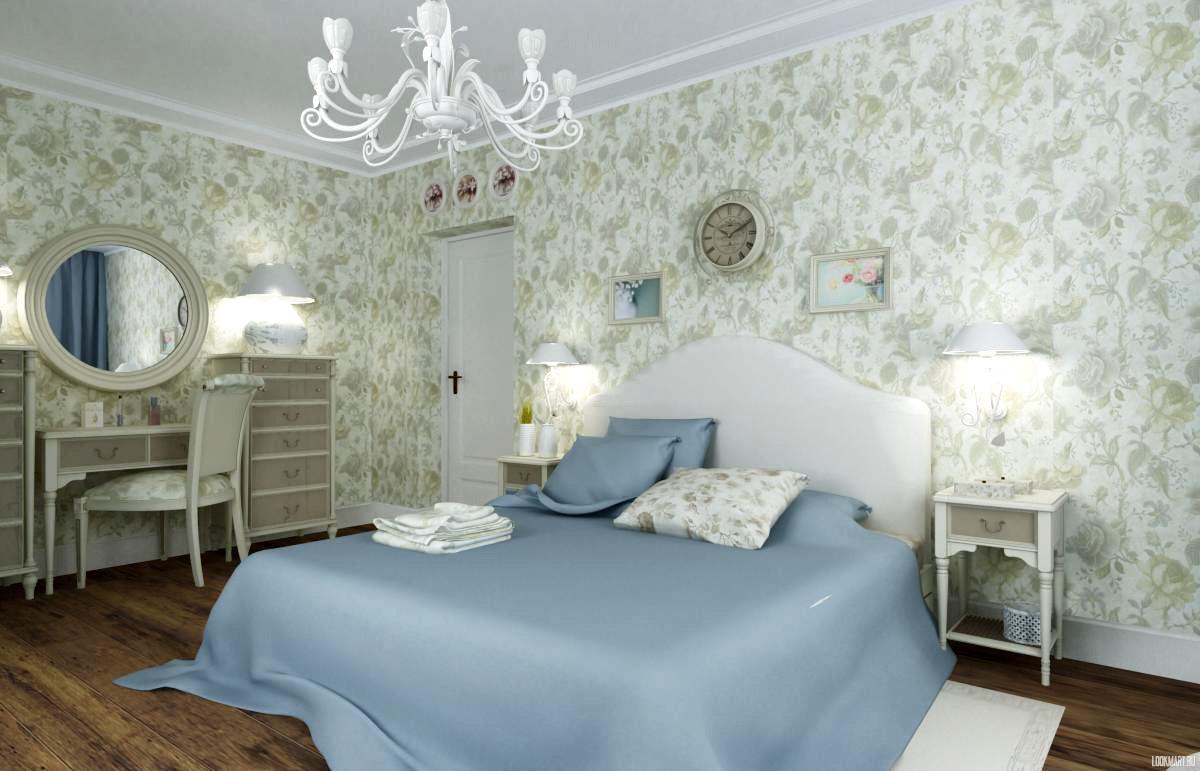 Спальня в цветах: фиолетовый, черный, серый, светло-серый, белый. Спальня в стиле неоклассика.