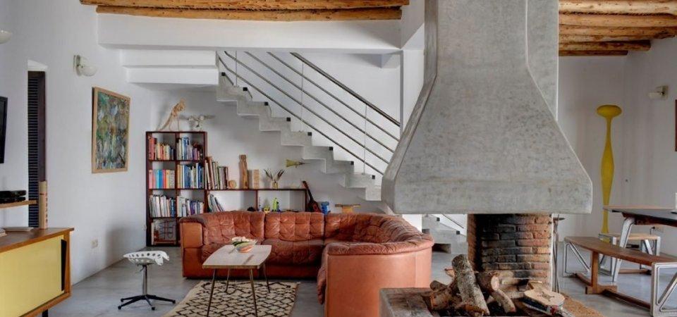 Колоритный дом с элементами этно из Марокко