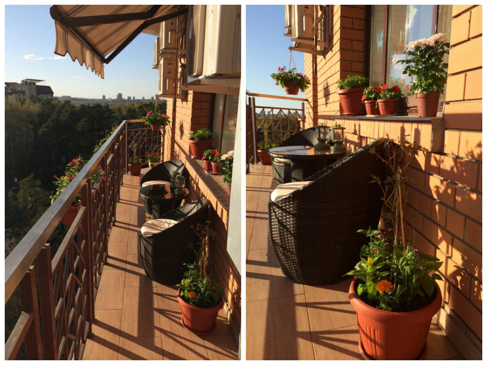 Уголок вдохновения: балкон дизайнера людмилы вербы - roomble.