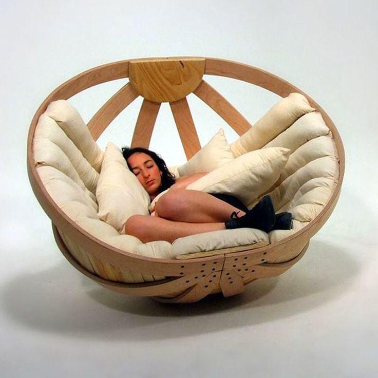 Мебель и предметы интерьера в цветах: желтый, светло-серый, коричневый, бежевый. Мебель и предметы интерьера в стиле экологический стиль.