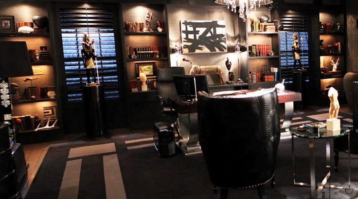 Офис в цветах: серый, темно-коричневый, коричневый. Офис в .