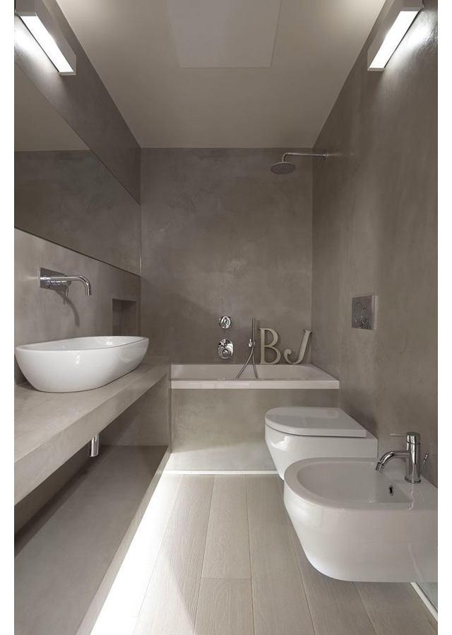 Туалет в цветах: черный, серый, светло-серый. Туалет в стиле минимализм.