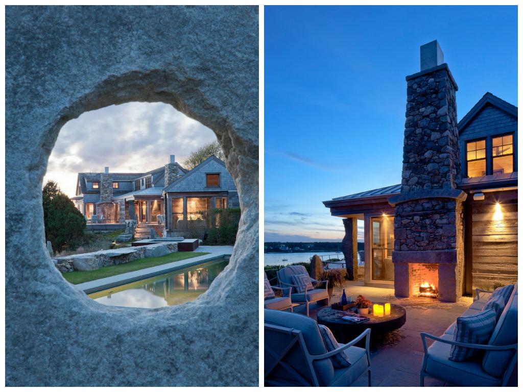 Балкон, веранда, патио в цветах: голубой, бирюзовый, черный, серый. Балкон, веранда, патио в стиле экологический стиль.