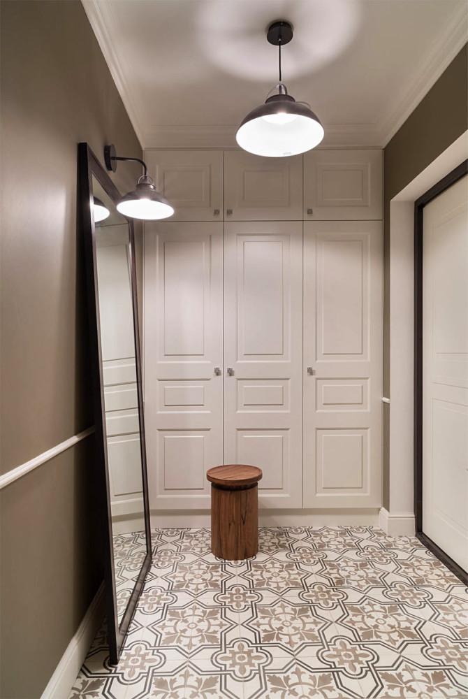 Мебель и предметы интерьера в цветах: серый, белый, коричневый. Мебель и предметы интерьера в стиле минимализм.
