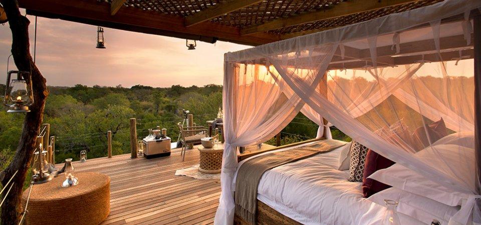 Ночь под звёздным небом: волшебный отель в Африке
