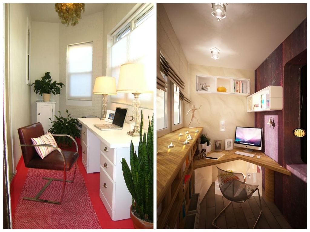 Где в квартире сделать офис: 5 идей и 10 примеров / surfingb.