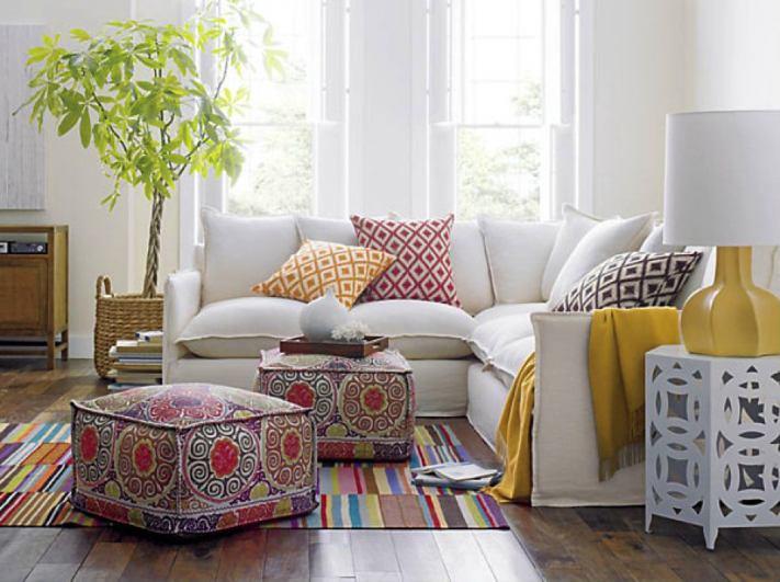 Гостиная, холл в цветах: серый, светло-серый, белый, темно-зеленый, салатовый. Гостиная, холл в стилях: скандинавский стиль, средиземноморский стиль.