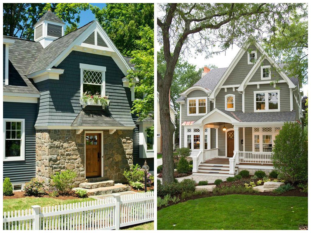 Архитектура в цветах: серый, светло-серый, темно-зеленый, бежевый. Архитектура в стилях: классика, неоклассика.
