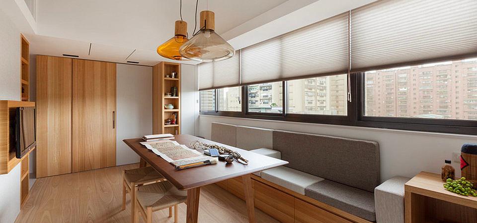 Квартира-трансформер: 26 квадратных метров для троих