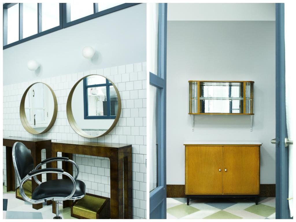 Офис в цветах: светло-серый, белый, темно-коричневый, коричневый, бежевый. Офис в стиле минимализм.