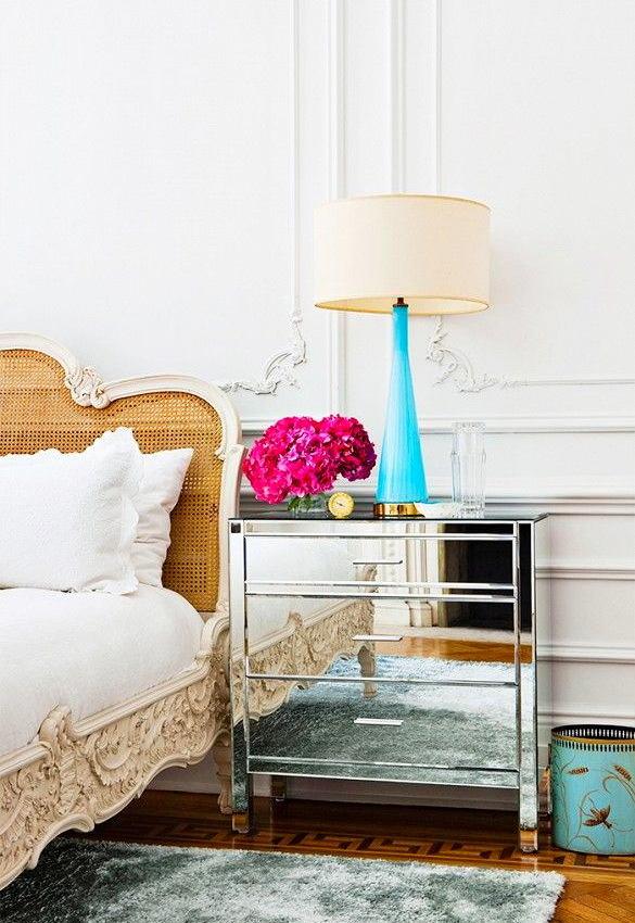 Спальня в цветах: желтый, серый, светло-серый, бежевый. Спальня в стилях: арт-деко.