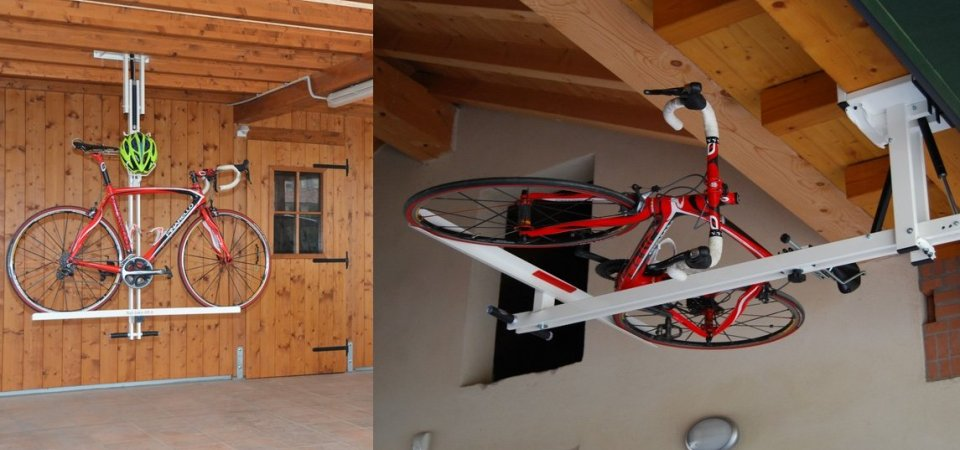 Велосипед на потолке? А почему бы и нет…