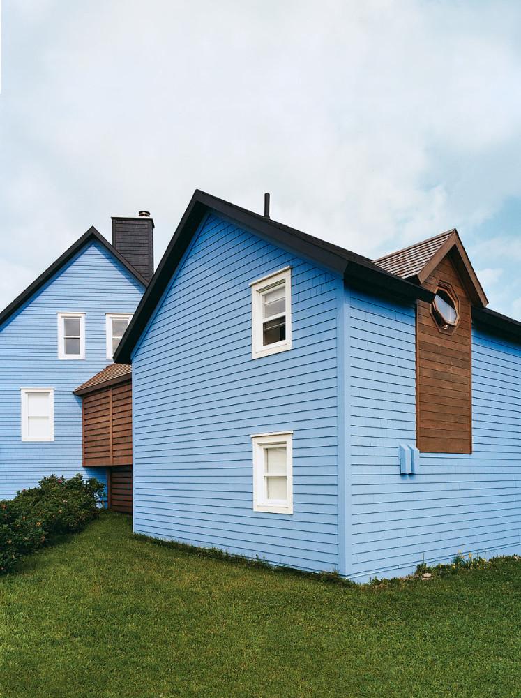 Архитектура в цветах: голубой, черный, серый, коричневый. Архитектура в стилях: классика, минимализм, лофт.