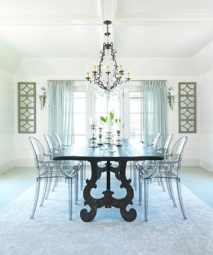 Архитектура в цветах: бирюзовый, серый, светло-серый, белый. Архитектура в стилях: американский стиль, экологический стиль.