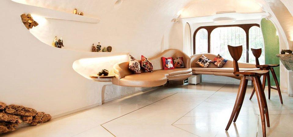 Сюрреалистичная квартира для молодой пары