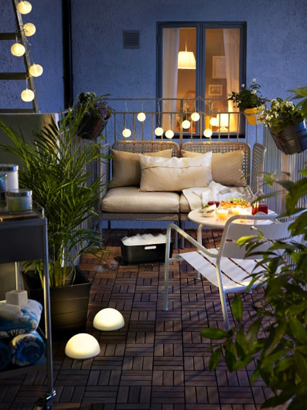 Балкон, веранда, патио в цветах: черный, серый, светло-серый, темно-зеленый, бежевый. Балкон, веранда, патио в стиле скандинавский стиль.