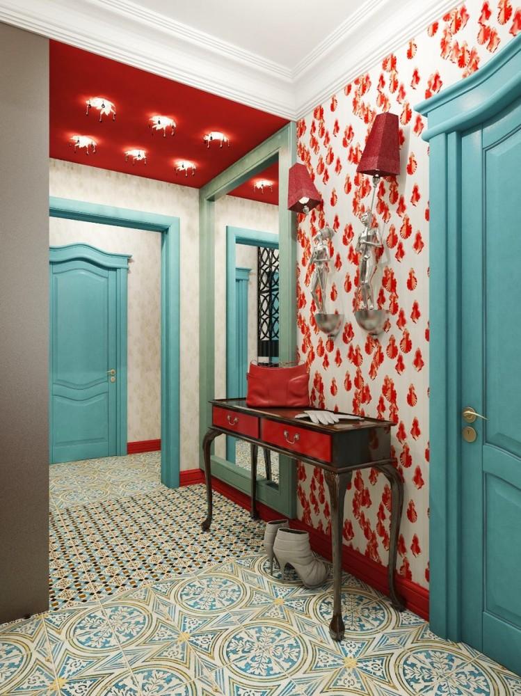 Мебель и предметы интерьера в цветах: бирюзовый, светло-серый, сине-зеленый, коричневый. Мебель и предметы интерьера в стилях: арт-деко, ближневосточные стили, эклектика.
