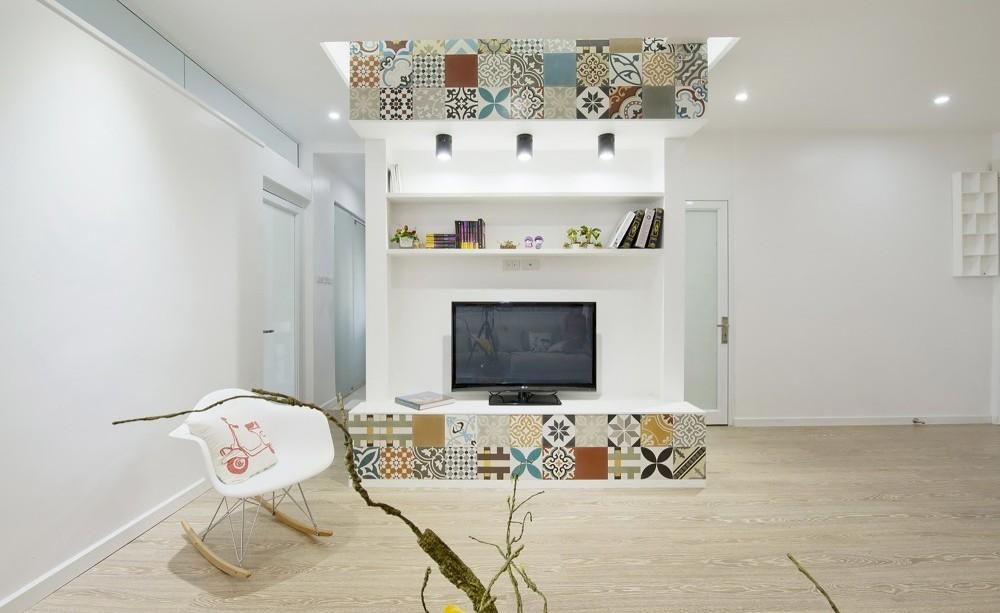 Гостиная, холл в цветах: серый, светло-серый, белый, бежевый. Гостиная, холл в стилях: минимализм, экологический стиль.