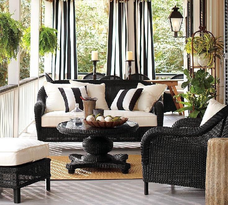 Балкон, веранда, патио в цветах: черный, серый, светло-серый, белый. Балкон, веранда, патио в стиле экологический стиль.
