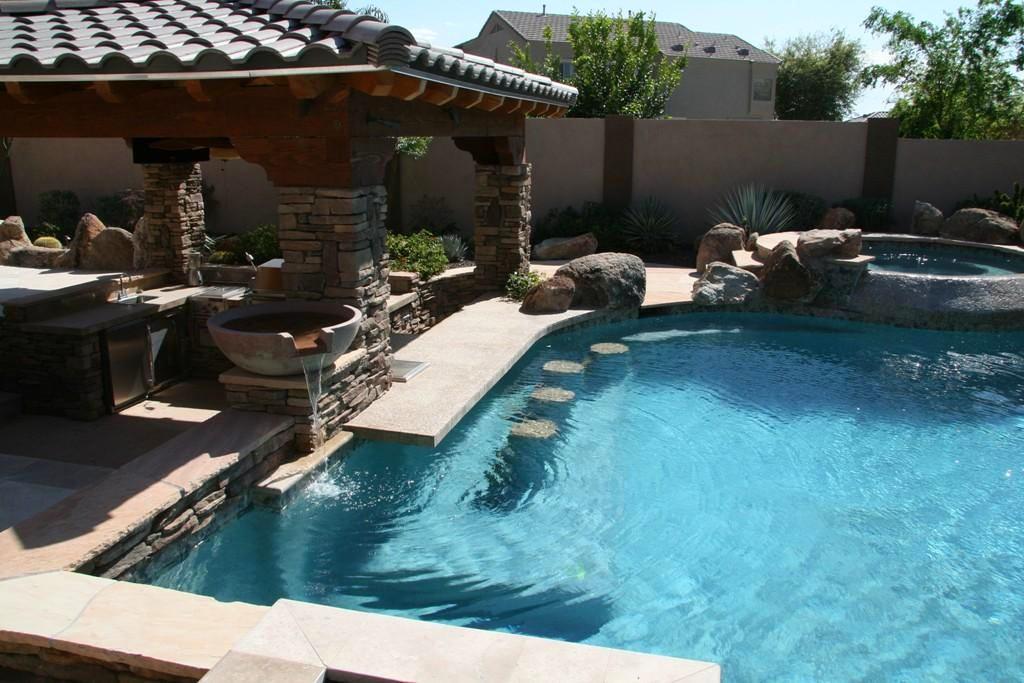 Бассейн, баня, сауна в цвете бежевый. Бассейн, баня, сауна в стиле минимализм.