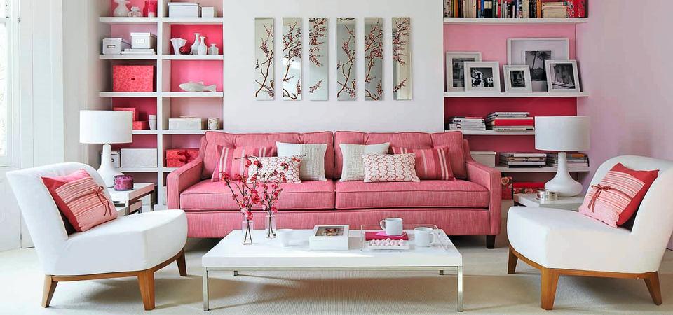 Как добавить в интерьер розового так, чтобы муж не сбежал из дома
