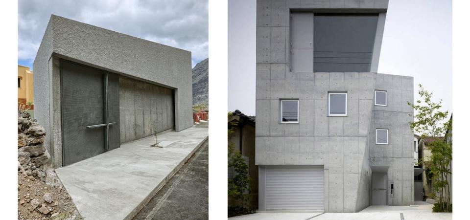 Современная архитектура: бетон и четкие формы