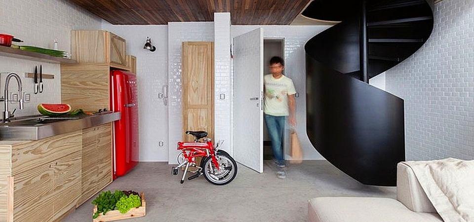 Маленькая квартира для новоиспечённого холостяка