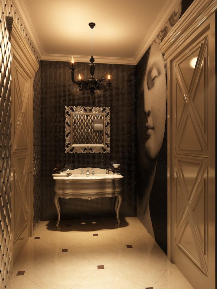 Архитектура в цветах: черный, серый, темно-коричневый, коричневый, бежевый. Архитектура в стилях: модерн и ар-нуво.