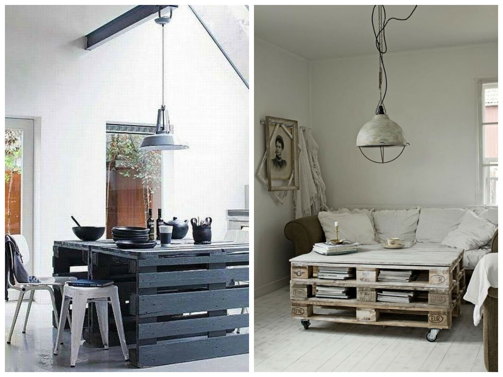 Мебель и предметы интерьера в цветах: фиолетовый, черный, серый, светло-серый. Мебель и предметы интерьера в стиле экологический стиль.