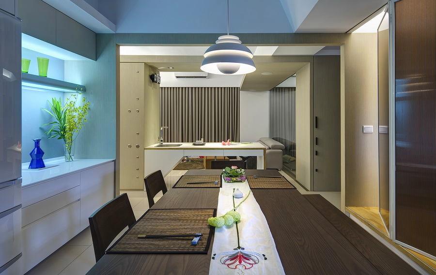 Кухня в цветах: голубой, серый, светло-серый, бежевый. Кухня в .