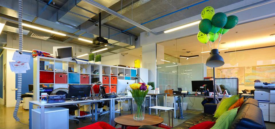 Как работается в офисе Yota Devices