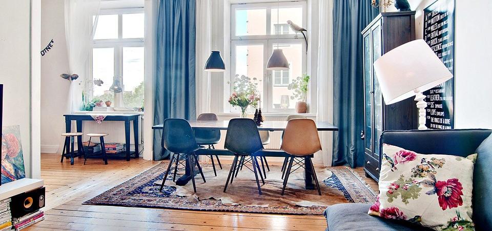 Квартира в белом цвете: эталон скандинавского стиля