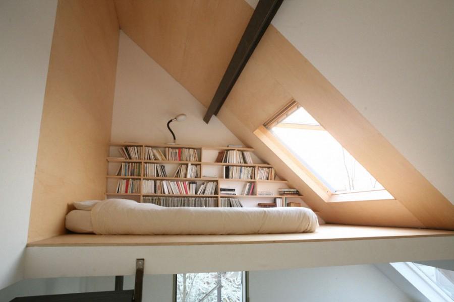 Спальня в цветах: белый, коричневый, бежевый. Спальня в стилях: минимализм.