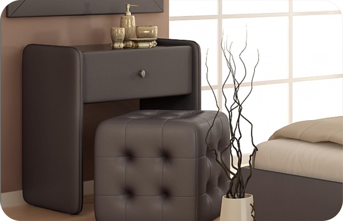 Мебель и предметы интерьера в цветах: черный, серый, светло-серый, коричневый. Мебель и предметы интерьера в стиле модерн и ар-нуво.