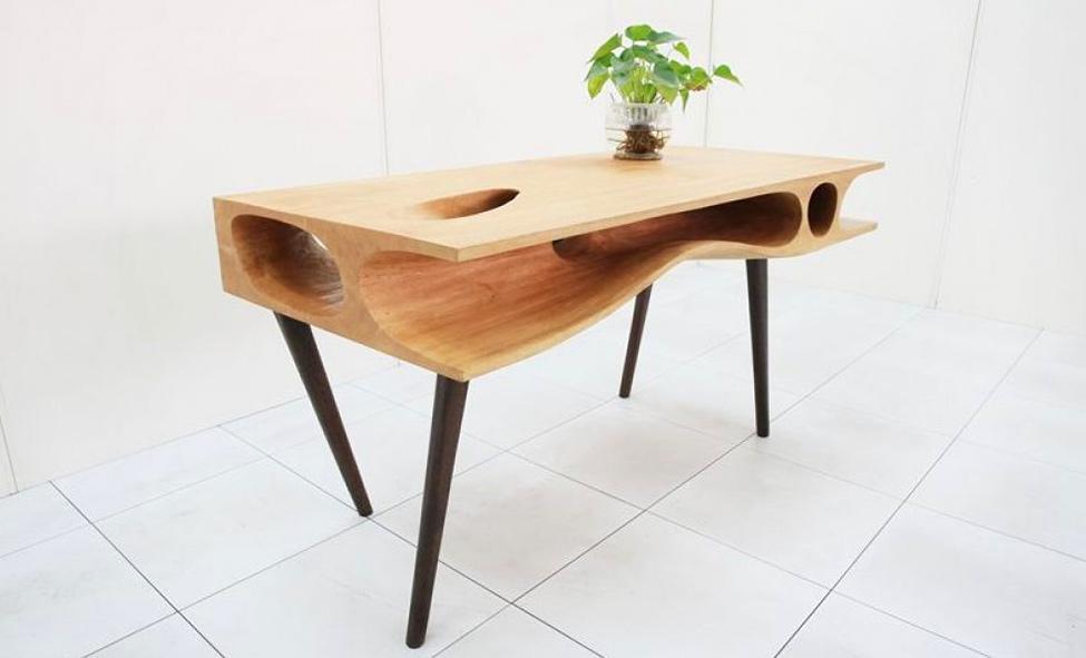 Мебель и предметы интерьера в цветах: желтый, черный, светло-серый, белый, бежевый. Мебель и предметы интерьера в стиле модерн и ар-нуво.