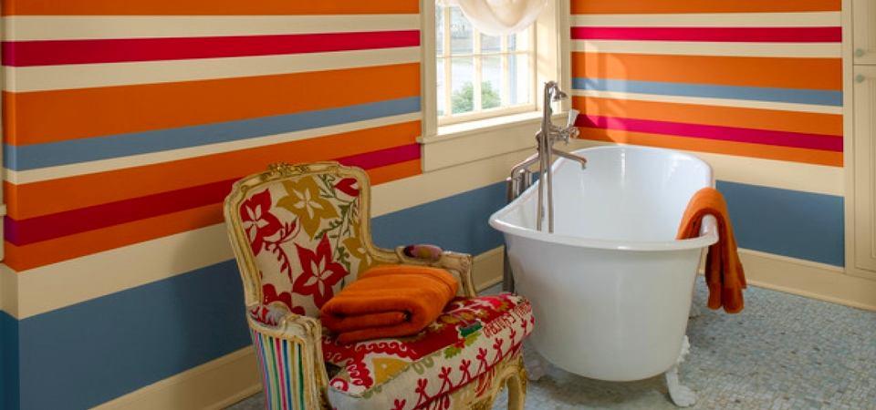 Как и чем красить стены в ванной: 5 важных рекомендаций